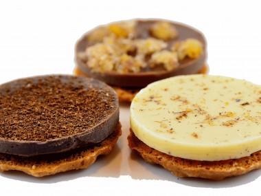 Gemischte Gretchen Taler aus diversen Schokoladensorten