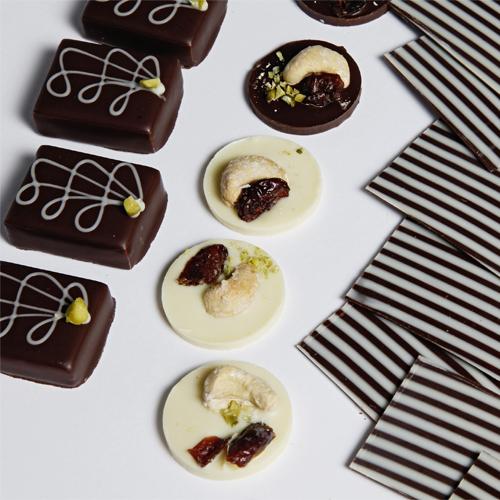 BIO-Schokoladen-Spezialitäten